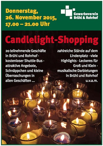 Candlelight-Shopping