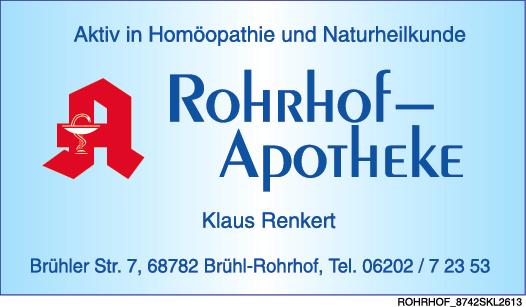 Rohrhof-Apotheke