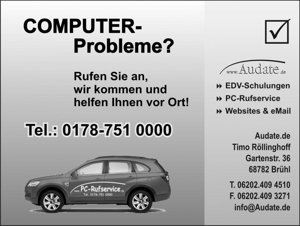 Computerprobleme?