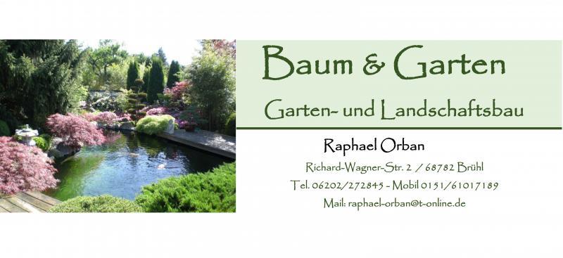 Baum & Garten Orban  Garten & Landschaftspflege (GaLaBau)