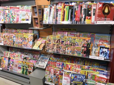 Zeitschriftenangebot
